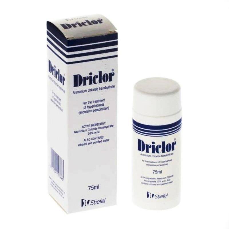 Driclor Desodorante Stiefel 75ml Antitranspirante Inodoro 7665