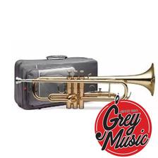Trompeta Gala Tr1400 Campana De Una Pieza+ Estuche Dorado