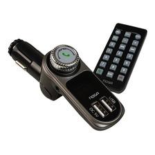 Reproductor Mp3 Noga Ng-27 Auto Lcd 2 Usb Microsd Bluetooth