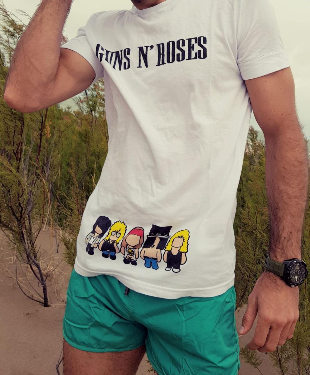 Remera Guns & Roses