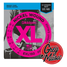 Daddario Exl150 Para Electrica De 12 Cuerdas - Grey Music
