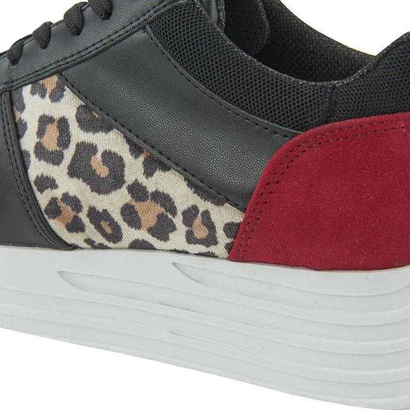 Sneakers Negro Multicolor 020976