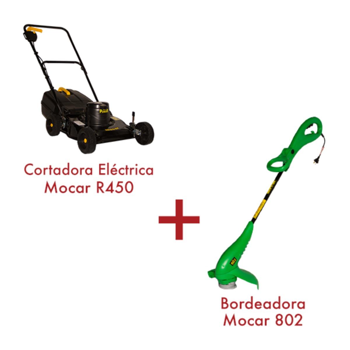 Cortadora Pro 1 HP R450 + Bordeadora 802