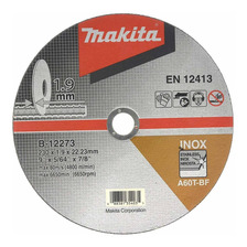 Disco Corte Metal Inox Makita Amoladora 230 X 1.9 Mm B-12273