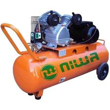 Compresor 300 Litros 5.5hp Trifasico Niwa Bicilindrico 573lt