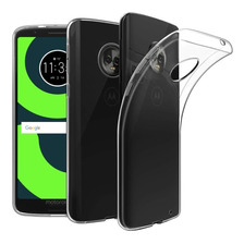 Funda Tpu Ultra Slim + Glass Templado Moto G5s G6 Plus Play