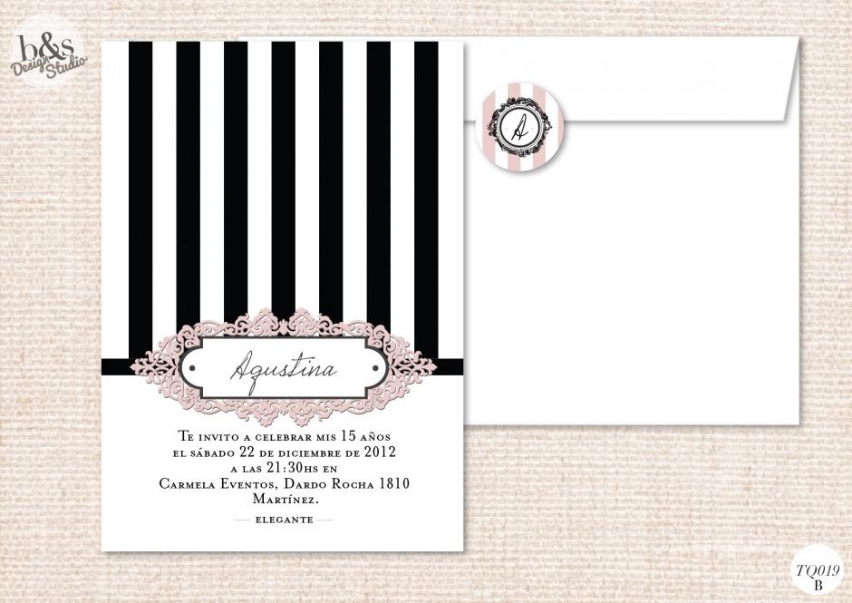 Invitación TQ019B