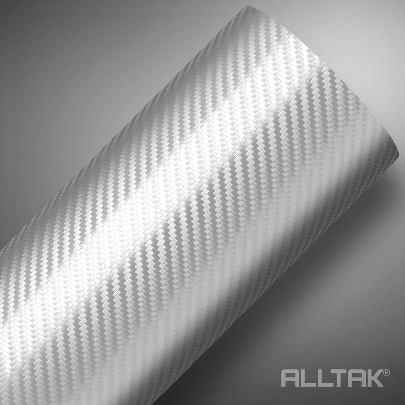 Vinil adesivo fibra de carbono (carbonium) prata larg.1,38 m