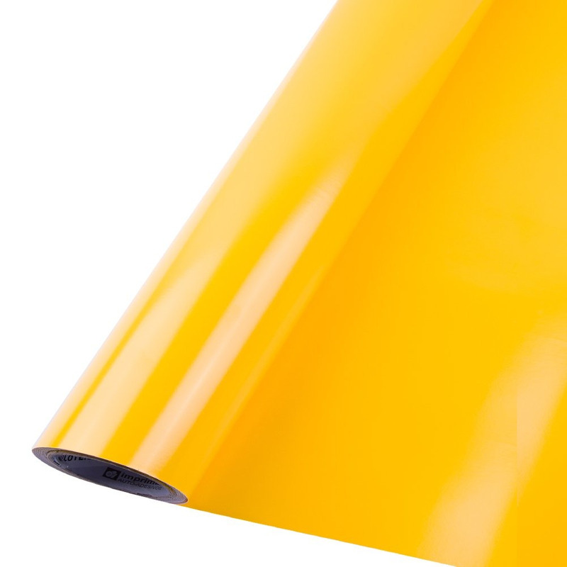Vinil adesivo Goldmax amarelo médio larg. 1,22 m