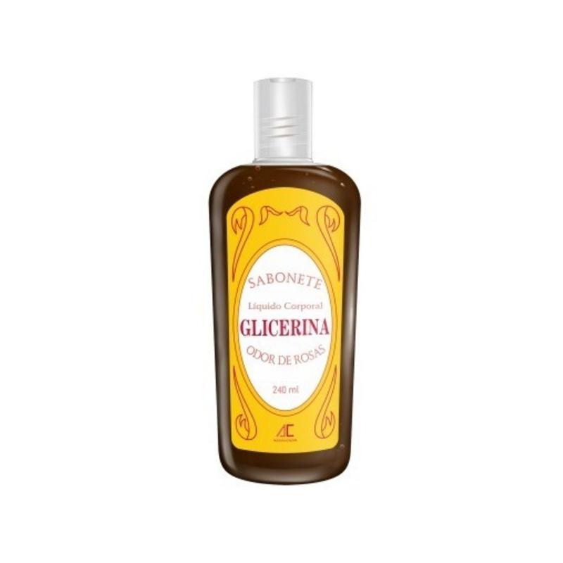 Sabonete de Glic. Liq. Corp. Odor de Rosas240mlAugustoCaldas