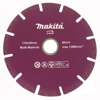 "Disco Diamantado 110mm (4.1/2"") Segmentado - Makita - D-44426"