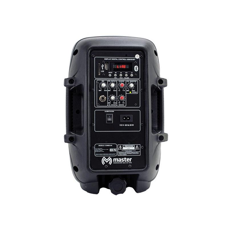 "Sistema de audio portátil (kit de bocinas amplificadas) de 8"""