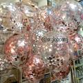 globos gigantes 18 pulgadas con confeti metalizado