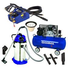 Combo Lavadero Hidrolavadora + Aspiradora + Compresor Aire