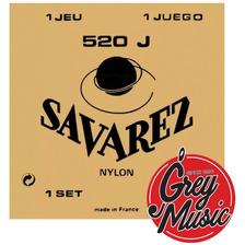 Encordado Guitarra Savarez 520 J Alta Ht Classic