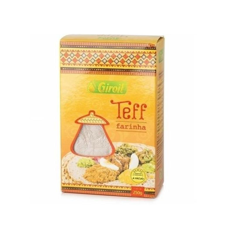 Farinha de Teff - 250g - Giroil