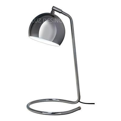 Velador Cromo Bocha Apto Led Gu10 Deco Moderno Luz Desing