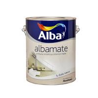 Esmalte Sintetico Mate Albamate  Blanco 4 Lts OGUS