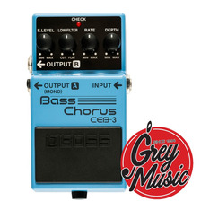 Boss Ceb-3 Bass Chorus Pedal Chorus Para Bajo - Grey Music -
