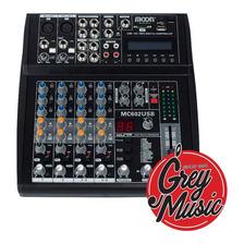 Consola Mixer Moon Mc602-usb 6 Canales 16 Efectos