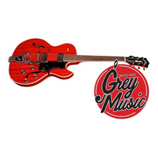 Guitarra Eléctrica Guild Starfire Iii Hollowbody Caobacherry