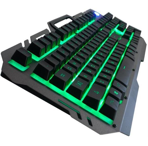 Kit Teclado Y Mouse Usb Gamer Retroiluminado Nkb-96 Noga