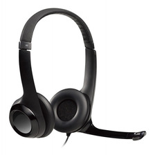Auriculares Headset Logitech Clearchat H390 Microfono Usb Skype Pc Mac Gtia Oficial