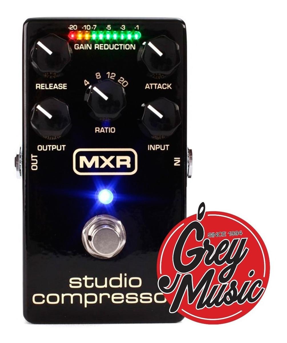 Pedal De Efectos  Mxr (m-76) Studio Compresor - Grey Music -
