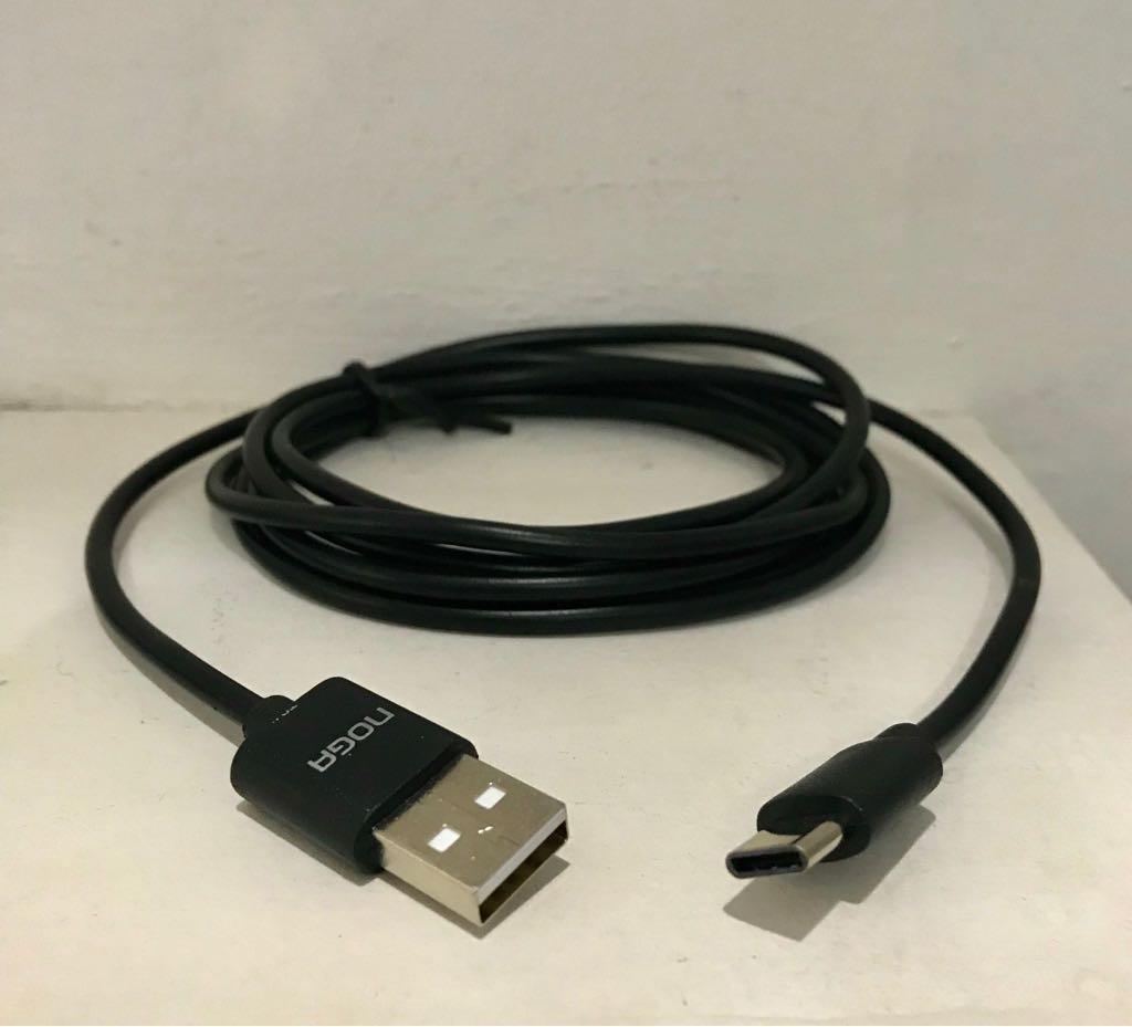 Cable Usb Tipo C 1.8 Mts Carga 2a Usb C1a Noga.