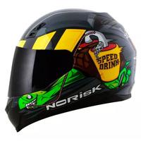Capacete Norisk FF391 Speed Drink Cinza