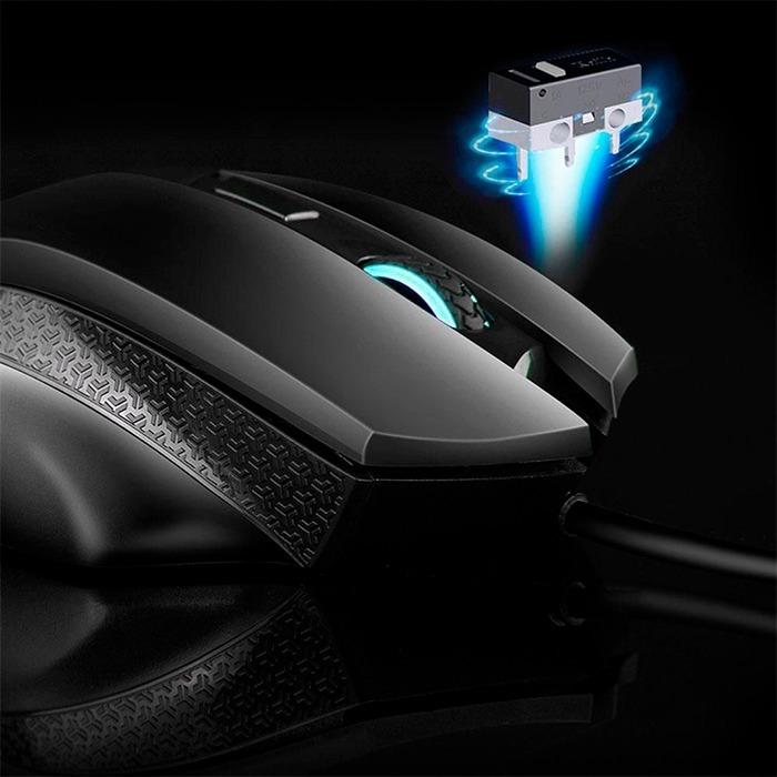 Mouse Gamer Hp G200 Luz Led Optico 4000dpi Usb