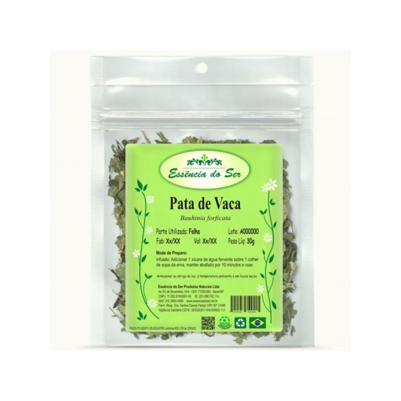Cha de Pata de Vaca - Kit 2 x 30g - Essencia do Ser
