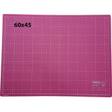 Base de Corte Rosa Lanmax 60x45 Dupla Face - Centímetro/Polegadas