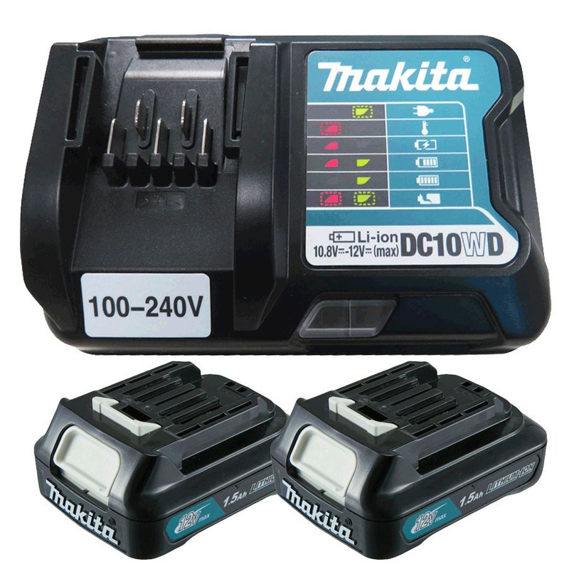 Kit Parafusadeira de Impacto a Bateria + Maleta, Baterias e Carregador - TD111DWYE - Makita - Bivolt