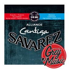 Cuerdas Savarez (510arj) Alliance Cantiga  Tensión Normal
