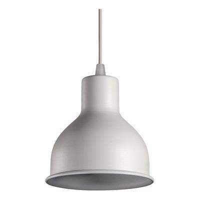 Colgante 1 Luz Campana Blanca Deco Moderno E27 Luz Desing
