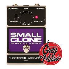 Pedal Electro Harmonix  140280 Small Clone Chorus Grey Music