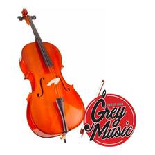 Violoncello Stradella 4/4 6011 C/funda Y Arco - Grey Music