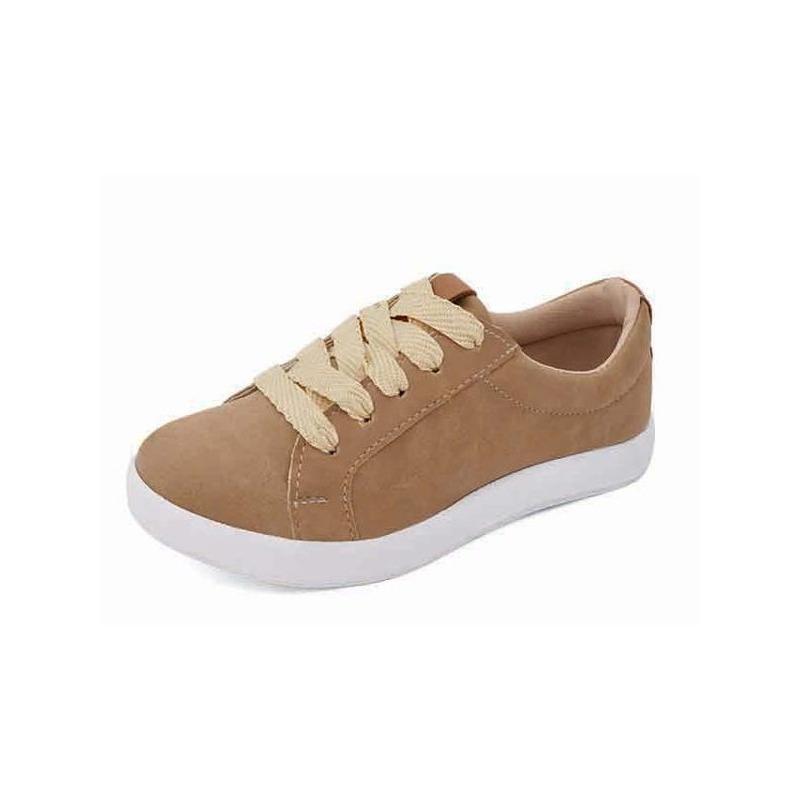 Sneakers camel  018237