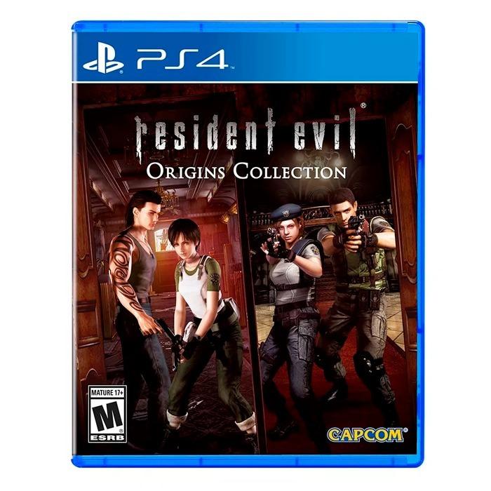 Resident Evil Origins Collection Ps4 Fisico Sellado Nuevo