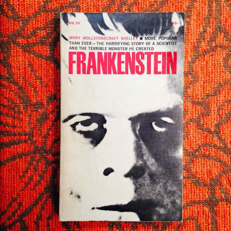 Mary Shelley.  FRANKENSTEIN.