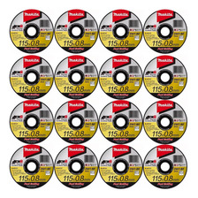 Disco De Corte Makita 0.8mm 115m Acero Inoxidable X 16 Unid