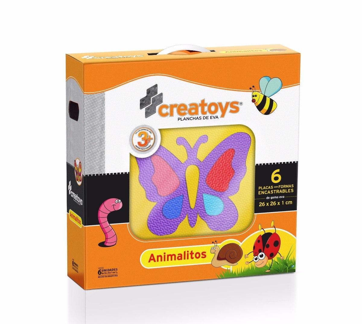 Art. 164 Pack Animalitos 6 piezas