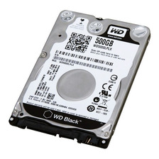 Disco Rigido 500gb Western Digital Black Notebook Wd 7200rpm