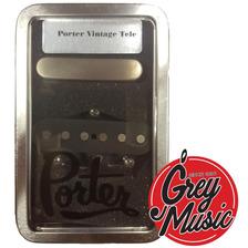Micrófonos Porter Pickups Vintage Tele Set Guitarra Elétrica