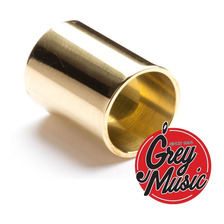 Dunlop 223 Brass Slide Medium Med Knuckle Brass