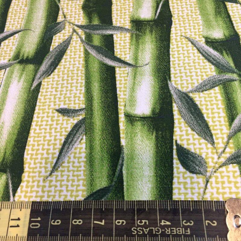 tecido impermeável Acqua Soleil bambu verde