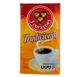 Café Torrado e Moído Tradicional - 250g - Três Corações
