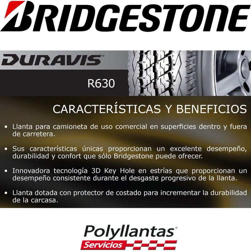 205-70 R15C 106R Duravis R630  Bridgestone