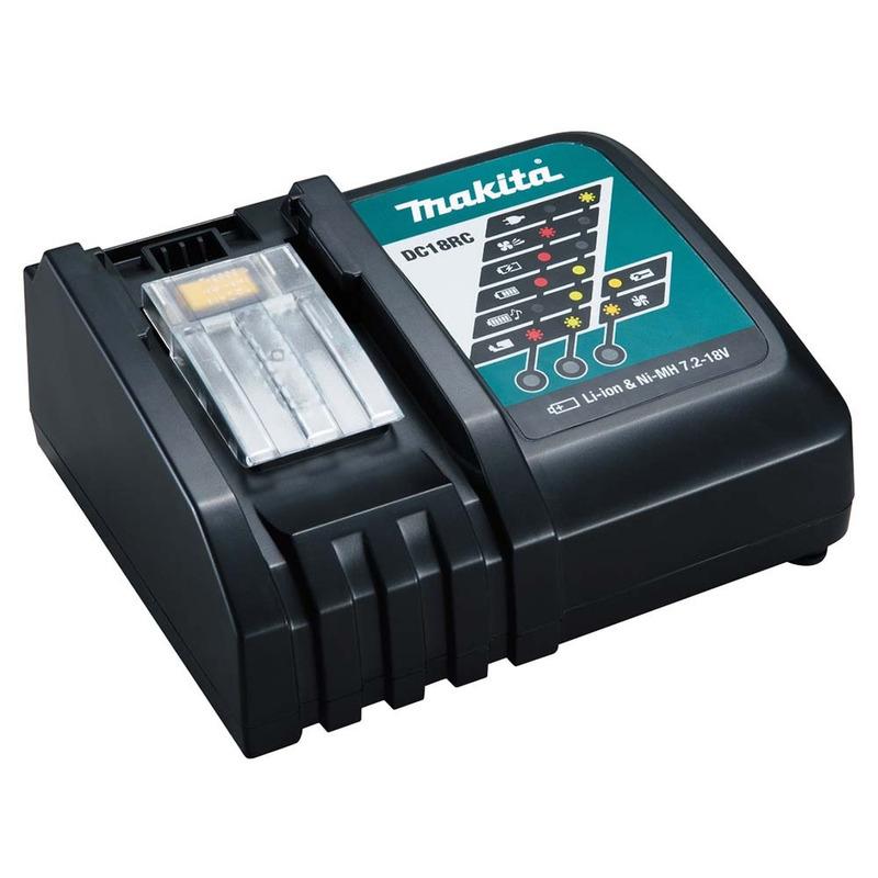 Parafusadeira e Furadeira de Impacto à Bateria 18V 5.0 Ah - DHP481RTE - Makita